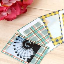 20 stks/set Mooie Print Papier Sticker Plakboek DIY Fotoalbums Decoratieve Papier Instax Mini Film Stickers(China)