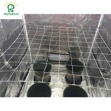 Hyindoor Расти Палатка решетчатая сетка сад полиэстер тяжелых завод 6 «квадрат мягкая сетка садовник решетчатая сетка ting5 * 15ft