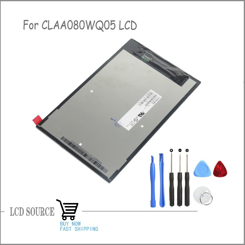 OEM 8 Inch For CLAA080WQ05 XN LCD Display LCD Panel Glass Replacement Parts Best Selling!!
