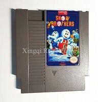 닌텐도 엔터테인먼트 시스템 NES 게임 눈 형제 비디오 게임 카트리지 콘솔 카드 미국/EU 유니버설 영어 버전