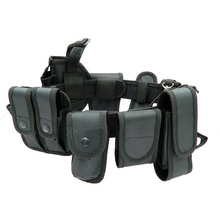 10pcs Multifunctional Security Belts Outdoor Tactical Military Training Polices Guard Utility Kit Duty Belt Belt with Pouch Set