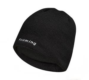 100% Waterproof Windproof Winter Black Beanie Hat women men cap , Breathable warmth ideal for fishing,trekking,running,cycling