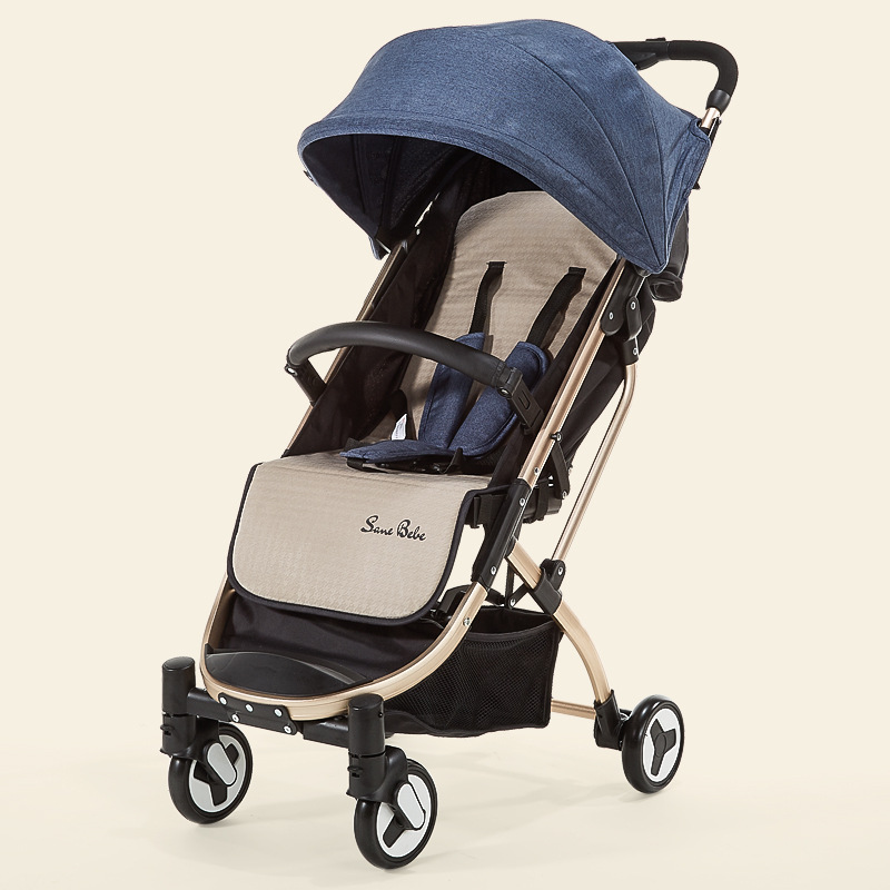 2018 new money Baby stroller  Small and light Sit down  Lie down plane Aluminium framework Airplanes can be carried