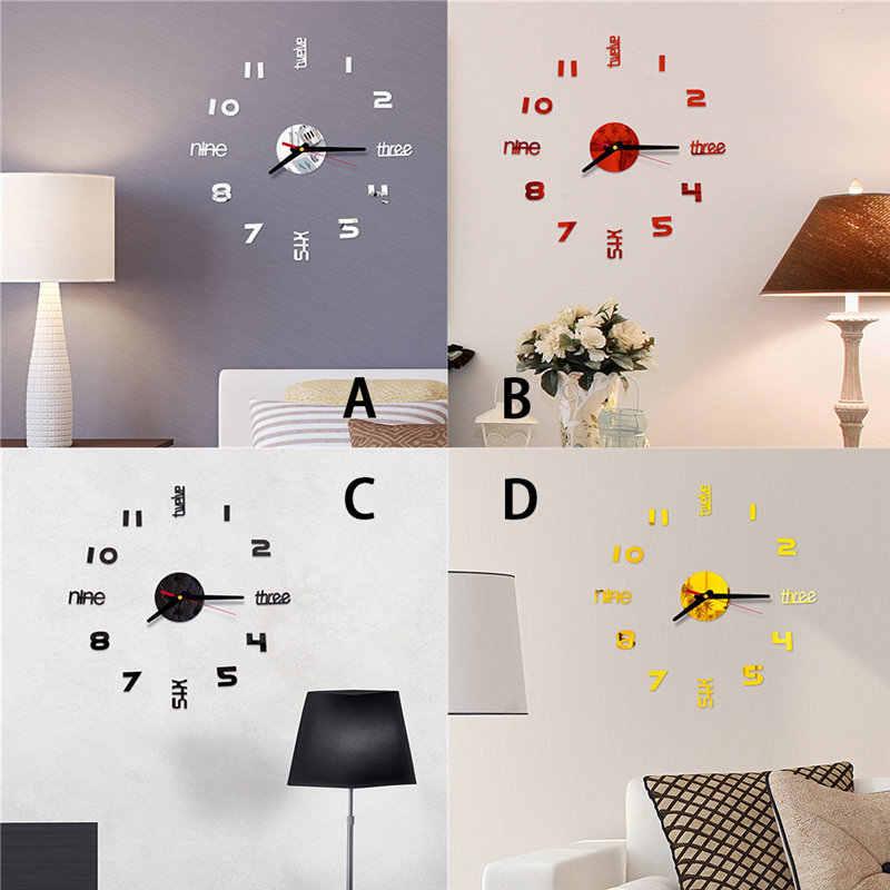 7 diy practical and decorative bathroom ideas.htm 3d diy roman numbers acrylic mirror wall sticker clock home decor  acrylic mirror wall sticker clock