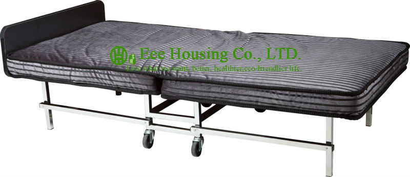 2016 Hot Sale Hotel Furniture Extra Folding Hotel Bed,Hotel Guest Room 12cm Mattress Extra Folded Beds