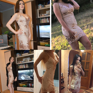 Image 2 - 섹시한 클럽 의상 장식 조각 여름 드레스 여성 미니 블랙 bodycon 파티 드레스 빈티지 여성 sukienki 드레스 vestidos 의류 2020