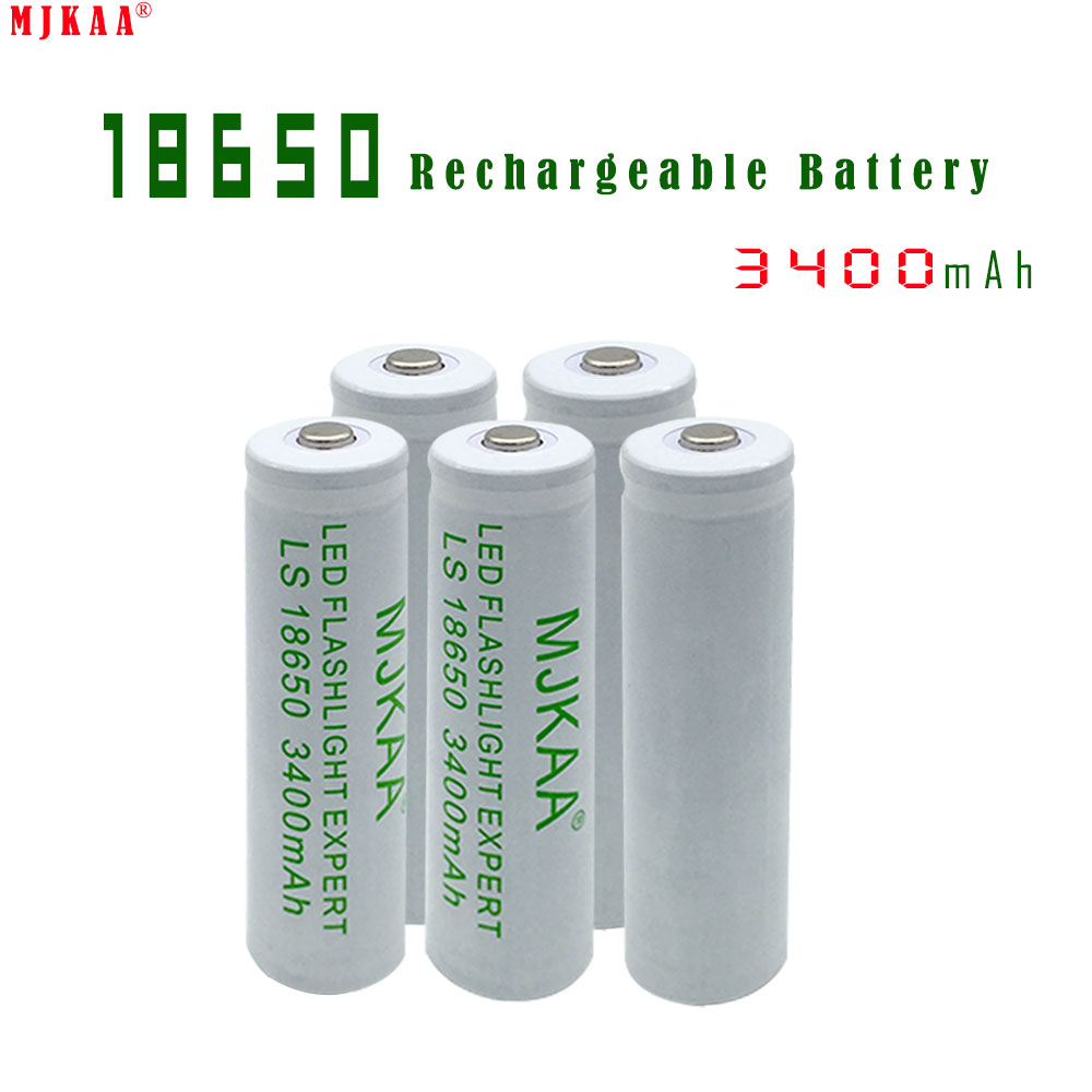 5pcs High capacity 18650 Rechargeable Battery(not AA/AAA