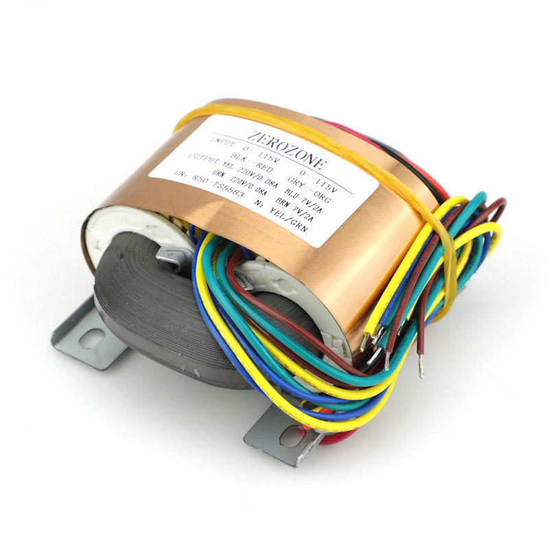 GZLOZONE 50VA R core Transformer 115V/230V To 220V+220V +7V +7V For Tube Preamp L13 6-in Amplifier from Consumer Electronics    1