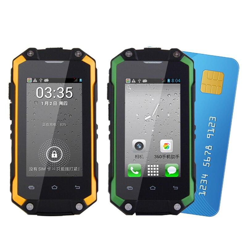 bilder für MAFAM J5 + Dual sim Android wasserdichte 5.1 play store ROM 8G RAM 1G mini smartphone WIFI WCDMA 3G robuste telefon P014
