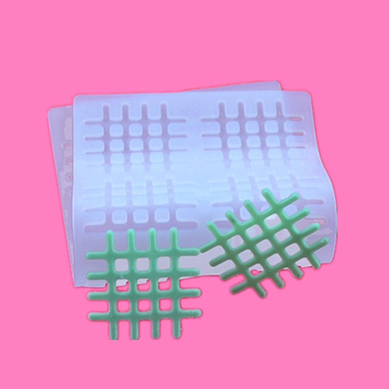 3D silikon acuan Mesh Sugarcraft Fondant Chocolate Mold DIY Non-Stick - Dapur, makan dan bar - Foto 3