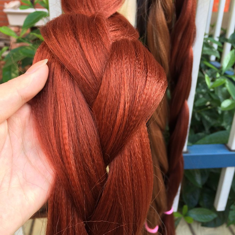 Marvelous High Quality Synthetic Braiding Hair Extension Hair Weaving Ombre Hairstyles For Men Maxibearus