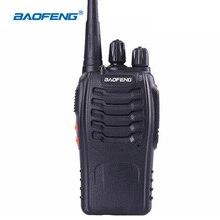 BaoFeng 888 S el telsizi 5 W UHF 400-470 M BF-888S Iki Yönlü Telsiz Iletişim Ekipmanları Mini Radyo telsiz