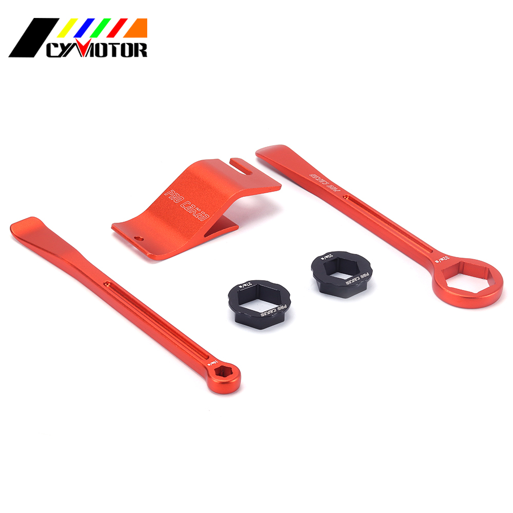 Motorcycle Bead Change Holder Natallation Spanner Tool And Tire Lever For KTM EXC EXCF XC XCF XCW XCFW MX EGS SX SXF SXS