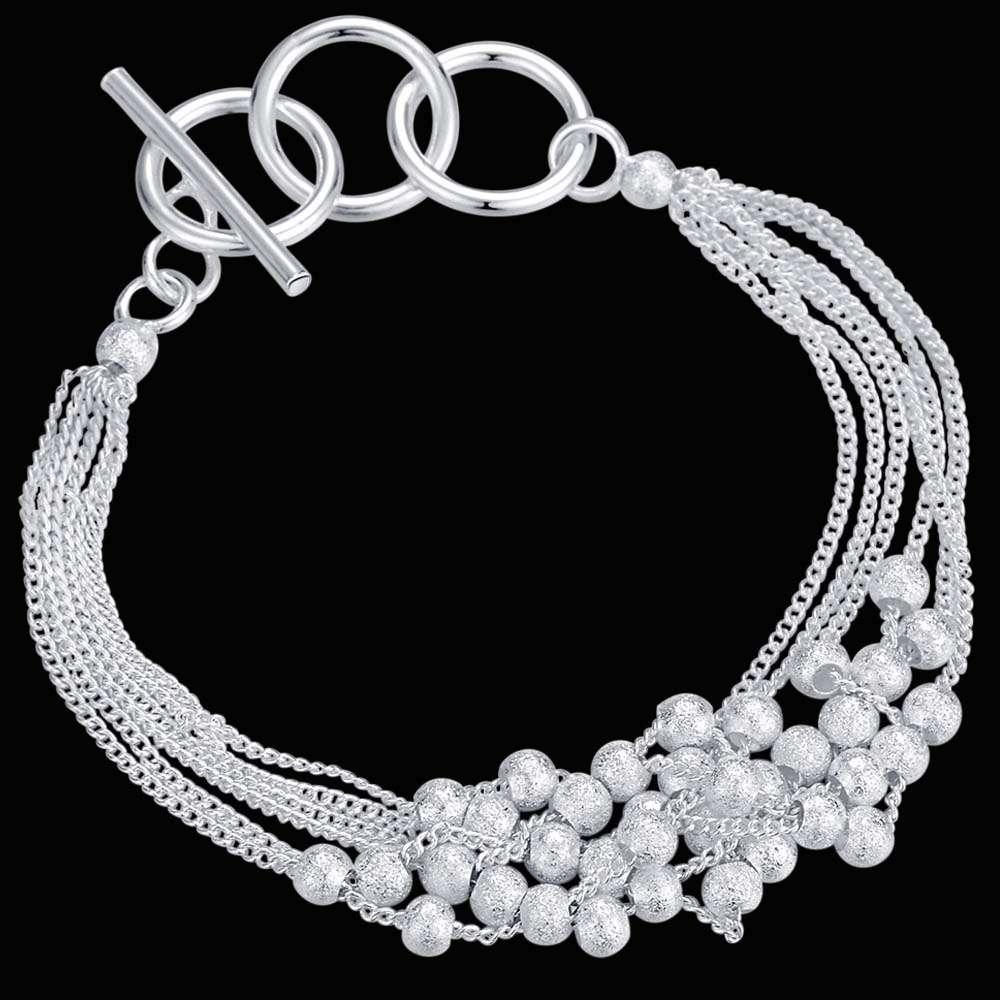 ᐃAH134 Wholesale silver 925 jewelry bracelets for women sterling ...
