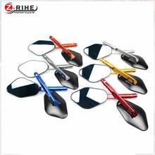 for Universal Motorcycle CNC Aluminium mirror motorbike moto Rearview side Mirror For BMW K1600 K1300 K1200R K1200S R1200RT R120