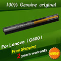 Frete grátis l12s4e01 l12m4e01 l12s4a02 l12m4a02 l12l4a02 l12l4e01 bateria do laptop original para lenovo ideapad g400 g400s g500