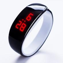 Orrison 2016 lady cadeau LED Montre, ovale rouge lumière affichage femmes montre-bracelet, creative jolie mode numérique Bracelet montres