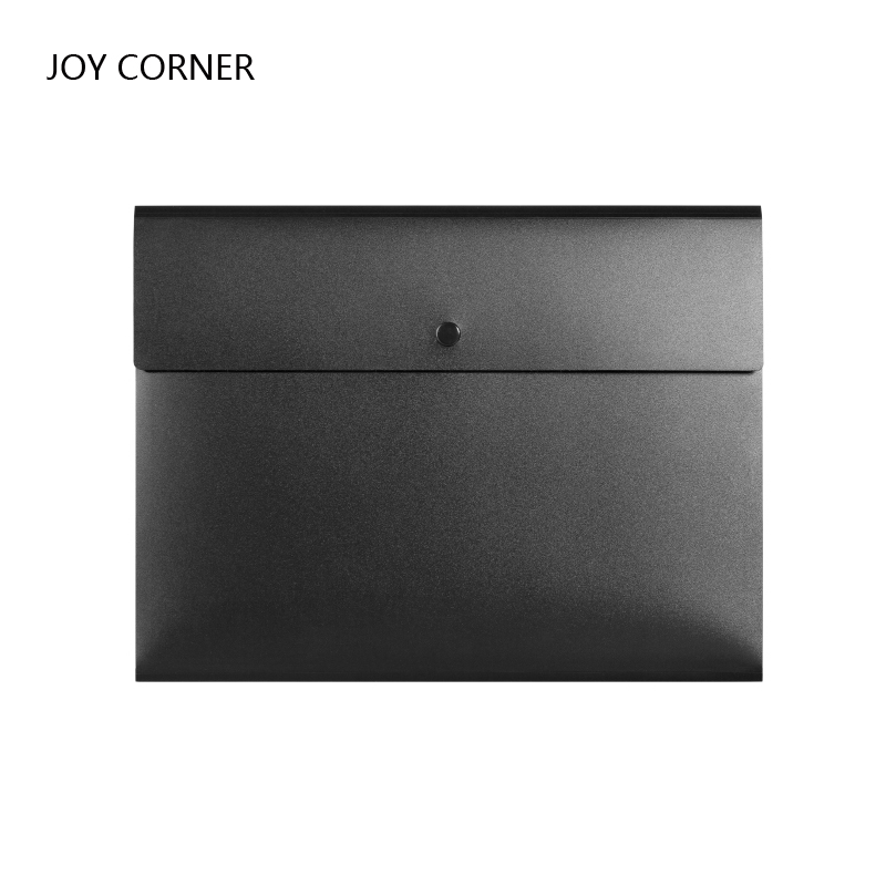 JOY CORNER A4 High Capacity Document Bag Office School Folder Plastic PP 230*320 mm File Cover Holder A Case for Documents Pack elastic closure folder hold a 4 documents files genuine cowhide leather first class manager document bag joy corner store 2018
