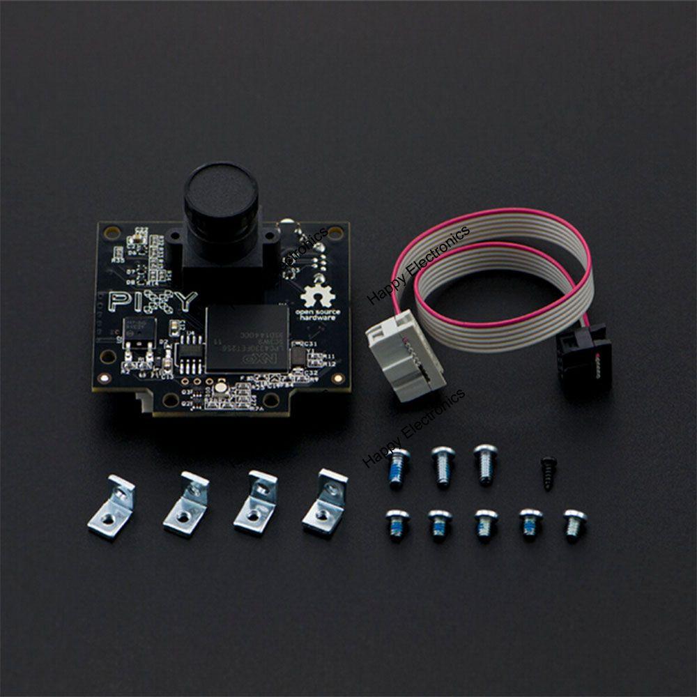Pixy CMUcam5 Image Recognition Sensor/camera, LPC4330 204MHz Omnivision OV9715 1/4 1280x800 FC-10P cable for Arduino fpga based intellegent sensor for image processing