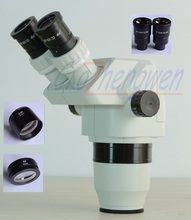 FYSCOPE  2X-180X Ultimate Binocular Stereo Zoom Microscope Head  SZ0.3X SZ2.0X