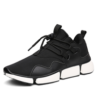 Running Shoes For Men Sport Shoes Stretch Fabric Light Breathable And Comfortable Outdoor Jogging Sneakers Shoes