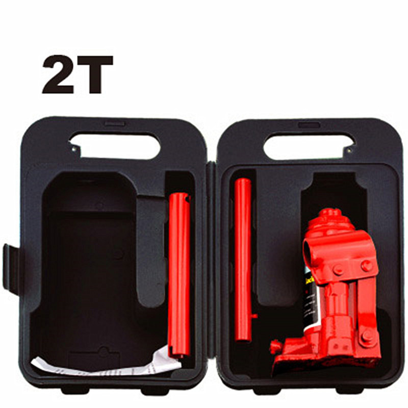 2T hand hydraulic car jack vertical automobile van suv hydraulic jack tire replace useful tool plastic case package light weight 2t hand hydraulic car jack vertical automobile van suv hydraulic jack tire replace useful tool plastic case package light weight