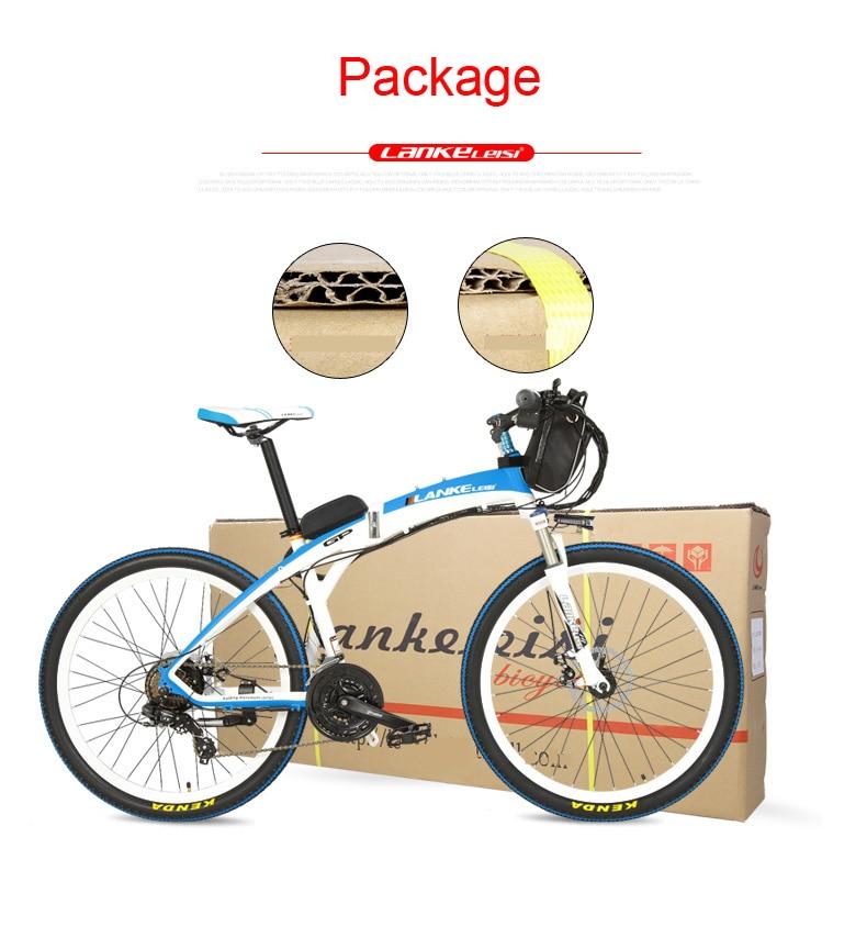 HTB1TJVJdBLN8KJjSZFPq6xoLXXa6 - Lankeleisi GP Electrical Bicycle, Folding Bike, 26 inches, 36/48V, 240W, Disc Brake, Quick-folding, Mountain Bike