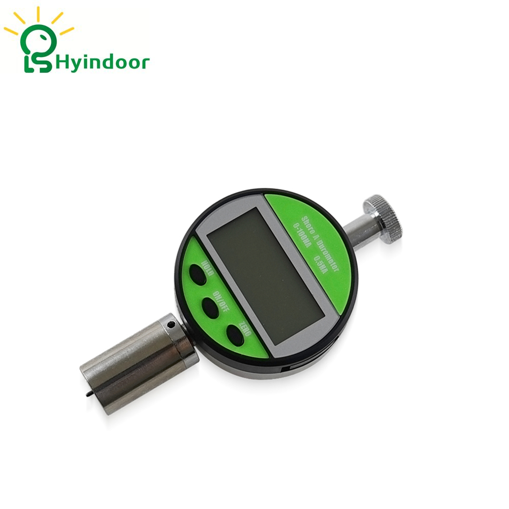 Green High accuracy digital shore hardness tester portable gauge measuring for hardness ,Type A common hard rubber meter shore d hardness tester with single pointer analog sclerometer lx d 1 shore durometer gauge