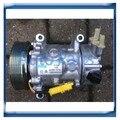 SANDEN 6C12 SD6C12 ac compressor for Peugeot 207 307 408/Citroen C2 C4 9659875780 6453QJ 6453QK 6453WK 6453WL 96519109 96598757