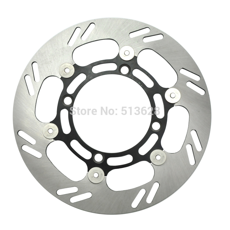 Motorcycle Front Brake Disc Rotor For Kawasaki KX125 KX250 KLX250 F RMZ250 RM-Z 250 K4 K5 K6 KX 125 250 KLX RMZ 250 NEW keoghs motorcycle brake disc brake rotor floating 260mm 82mm diameter cnc for yamaha scooter bws cygnus front disc replace