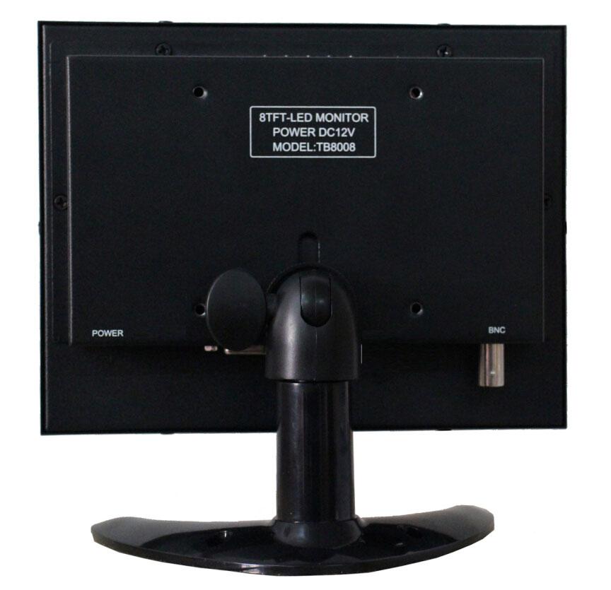 8 pulgadas de cáscara de hierro BNC computadora industrial VGA - Periféricos de la computadora - foto 2