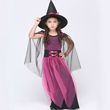 New Children Witch Cosplay Clothing Anime Costumes Show Role Playing Performance Dance Drama Clothes Halloween Costume For Kids kids cosplay star wars the force awakens imperial stormtrooper role playing costumes uniforms performance performance clothing