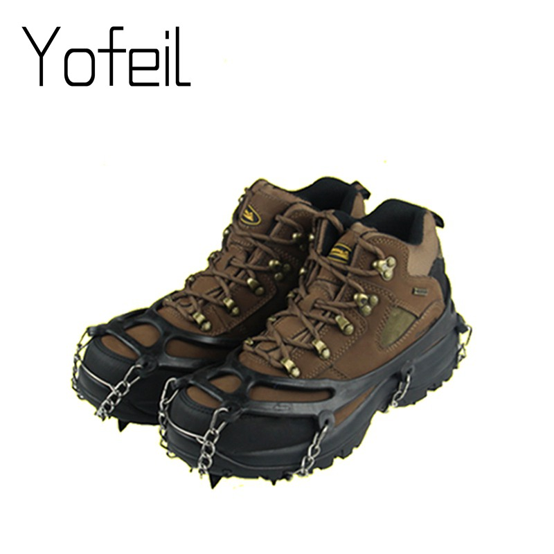 8 Teeth Claw Traction Crampon Anti-Slip Ice Cleats Boots Tread Gripper Chain Spike Sharp Outdoor Snow Walking Climb Shoes Cover goznak набор для квиллинга бумага 300 5мм медиум моно красный qzv m 100 5r