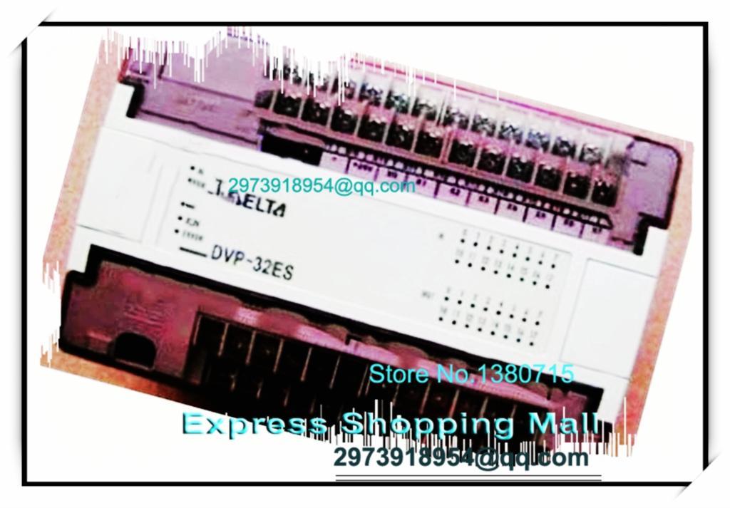 New Original DVP32ES00R2 Delta PLC 100-240VAC 16DI 16DO relay output dvp32xp200r delta plc 100 240vac 16di 16do relay out digital module new original