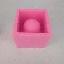 Square Vase Silicone 3D Mold for Cactus Planting Flower Pot Concrete Planter Mould classic pot for planting