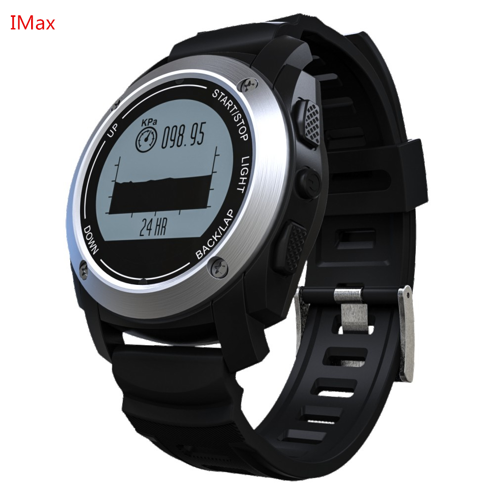 Smartch GPS Sport Smart Watch S928 Bluetooth Watch Heart Rate Monitor Pedometer Speed Tracker Pressure Temperature Waterproof