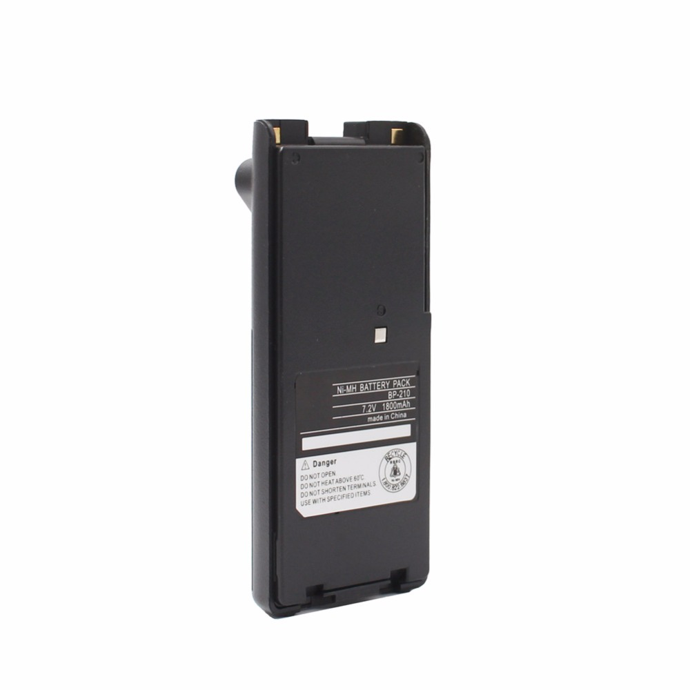 9 x 1650mAh NI-MH BP-209//N BP-210//N Battery for ICOM IC-V8 V82 U82 A6 A24
