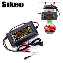 Completamente Automatico Batteria Auto Caricabatteria 110 V/220 V A 12 V 6A Smart Veloce di Carico di Potere Adatto Per auto Moto Con EU/Spina DEGLI STATI UNITI