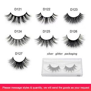 Image 3 - Visofree 25 pairs/lot Eyelashes 3D Mink Lashes Handmade Dramatic Lashes Mink Collection Full Volume False Eyelash Makeup cilios
