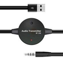 3.5mm Wireless Bluetooth 3.0 Stereo FM Audio Transmitter Ada