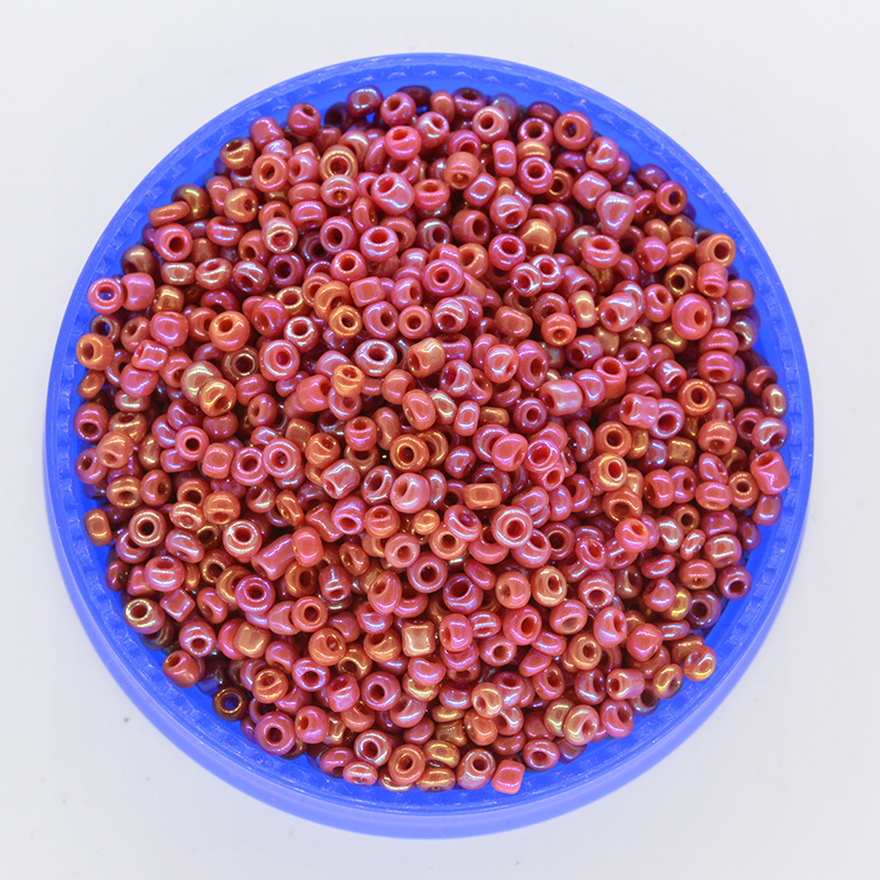 Beads & Jewelry Making Considerate 1000pcs/lot 2mm Solid Red Ab Crystal Glass Czech Seed Beads Loose Spacer Hama Beads For Diy Jewelry Making Bracing Up The Whole System And Strengthening It