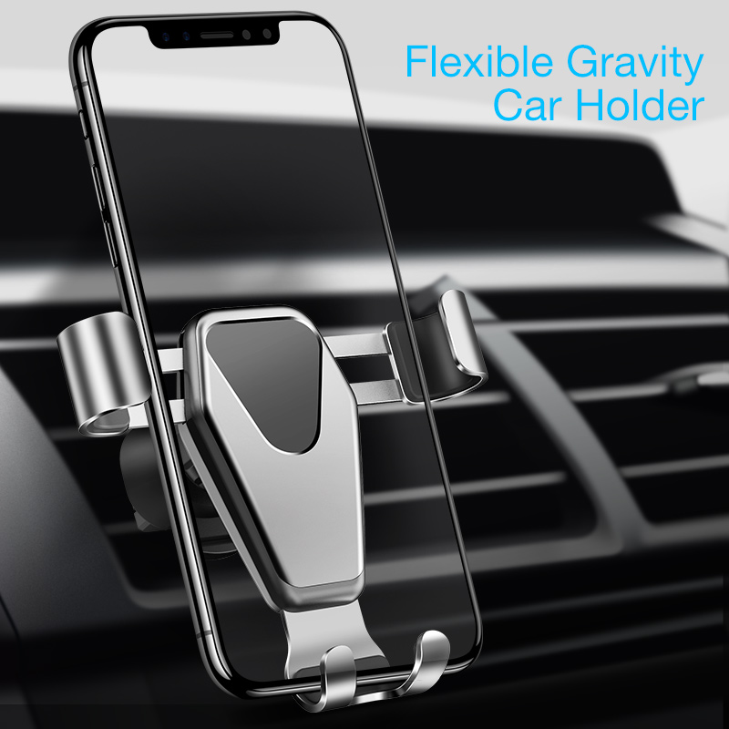 CAFELE Car Phone Holder Magnetic Mobile Phone Holder Gravity GPS Air Vent Car Holder for iPhone X 8 Samsung Note9 Xiaomi Huawei