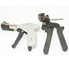 Abrazadera de cables de acero inoxidable herramienta autotensora y de corte
