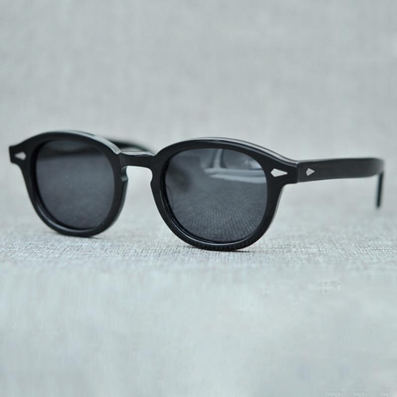 Johnny Depp Óculos De Sol Das Mulheres Dos Homens de moda Com Caso   Caixa  de fbdb54ccf9