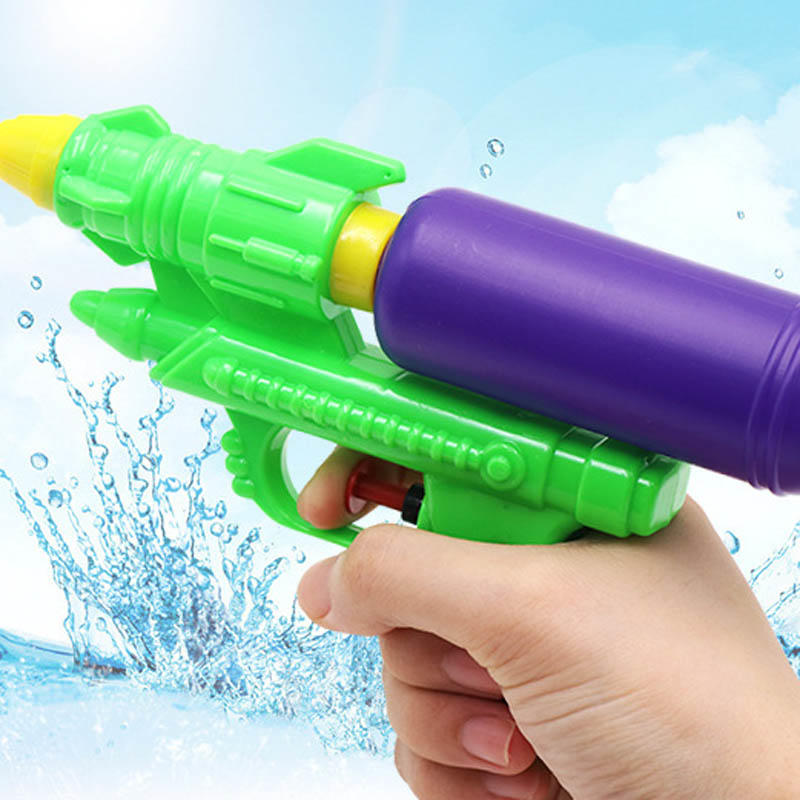 Wecute Water Guns Toys Classic Baby Toys Outdoor Beach Water Pistol Blaster Gun Portable Squirt Gun Kids Beach Toys Random Color 2