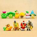 10 Oitava Geração pçs/set Plants vs Zombies Plantas Zombies Brinquedos Brinquedo 5-10 cm PVC Coleção Figura