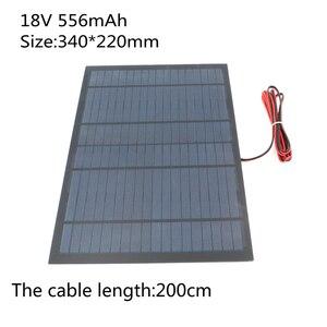 Image 4 - Panel Solar portátil, 18V, 10W, 5W, 4,5 W, 1,5 W, celda solar, bricolaje, para teléfonos móviles, linterna, juguetes, kits electrónicos, batería solar