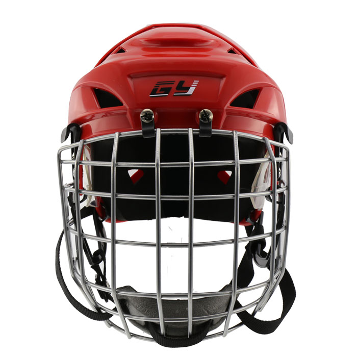 GY sports hockey equipment colour lacrose professional ice hockey Helmet with face mask for exercise children gear magideal ice hockey helmet soft eva liner with cage for player hockey face shield xs s m l xl