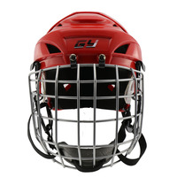GY sports hockey equipment colour lacrose professional ice hockey Helmet with face mask for exercise children gear