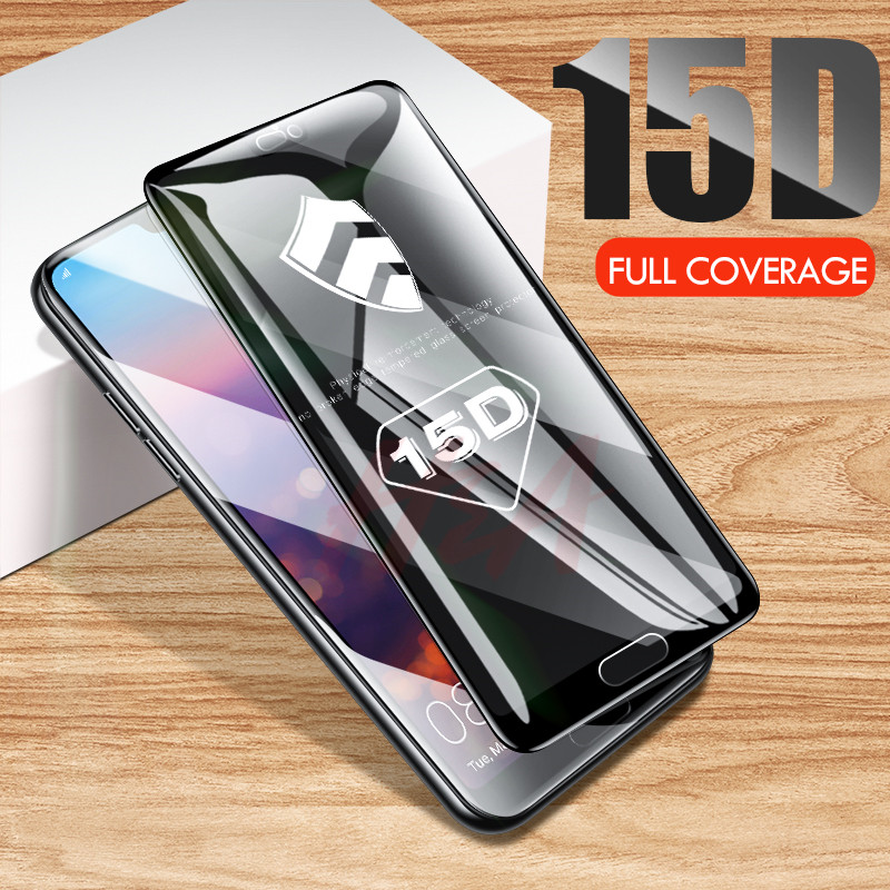 15D Curved Full Cover Tempered Glass For Huawei P20 Lite Pro Protective Glass Screen protector On The Mate 20 10 Lite Pro Glass